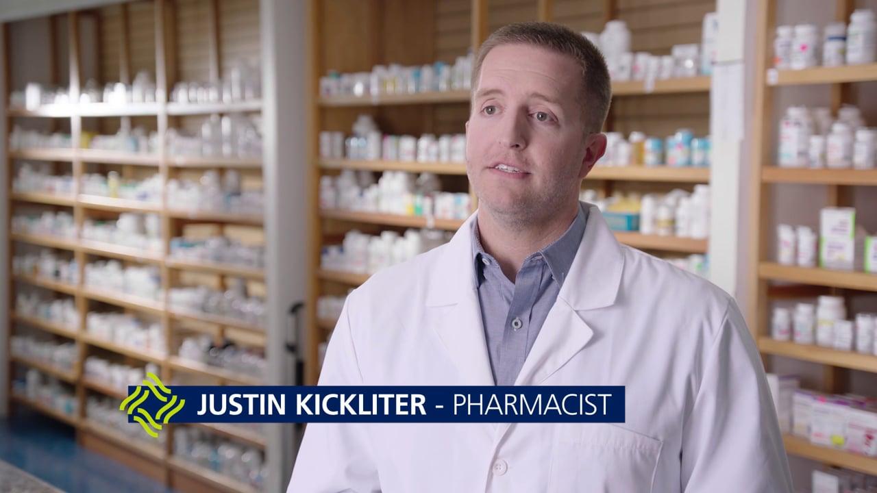 Justin Kickliter - Pharmacist