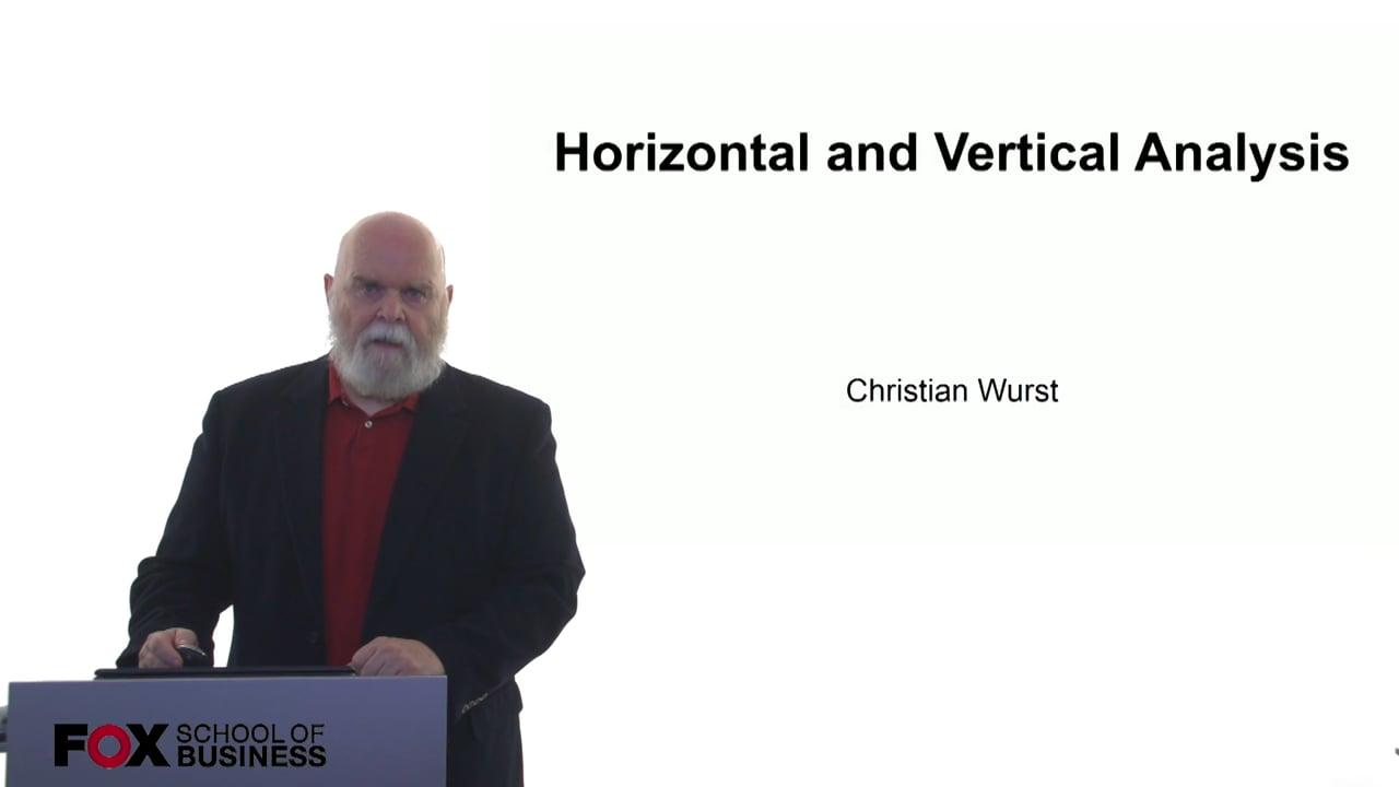 61055Horizontal and Vertical Analysis