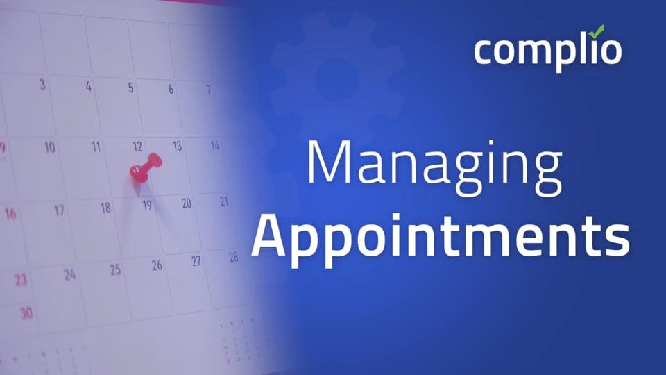 Managing Fingerprint Appointments