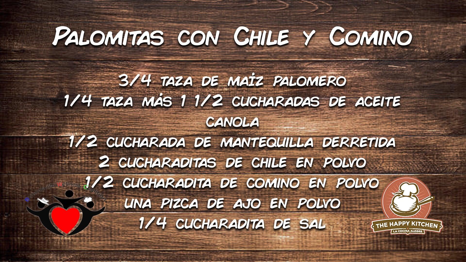 Tu Salud Si Cuenta - Palomitas con Chile y Comino