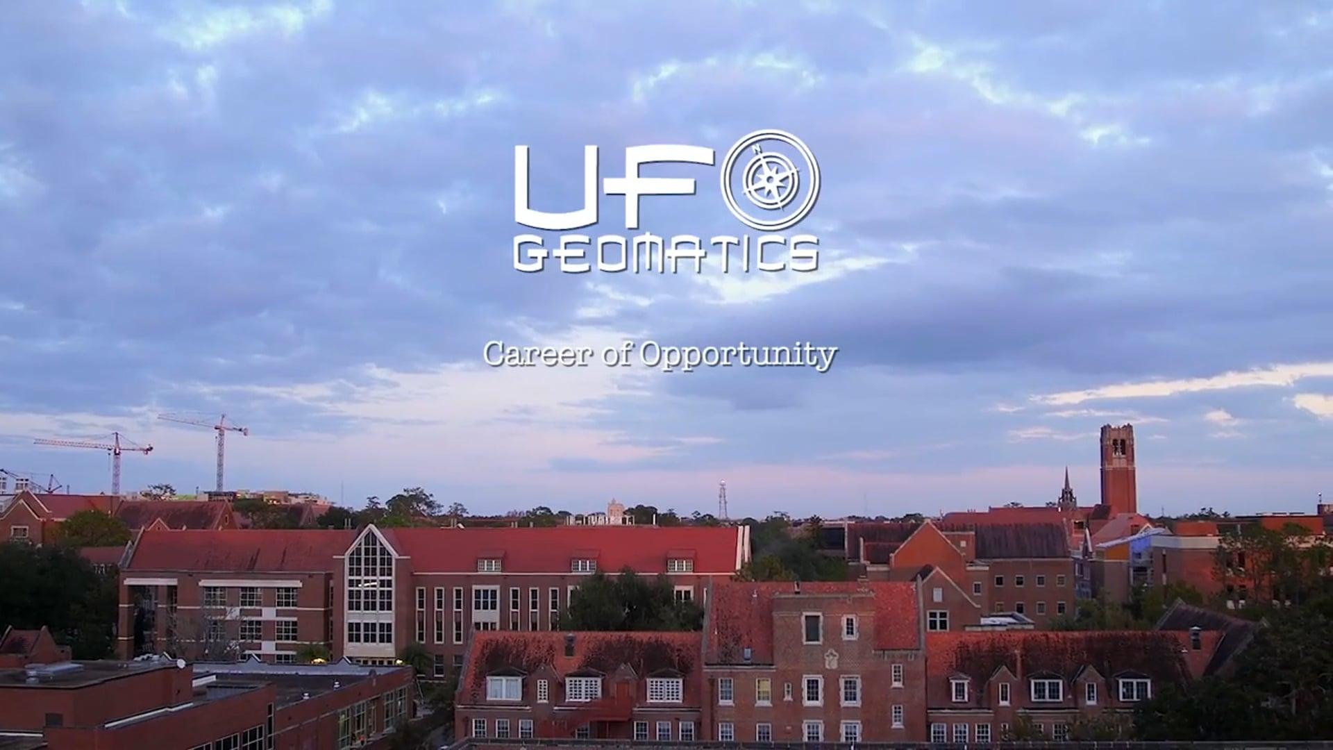 UF Geomatics - Career Of Opportunity (Promo)