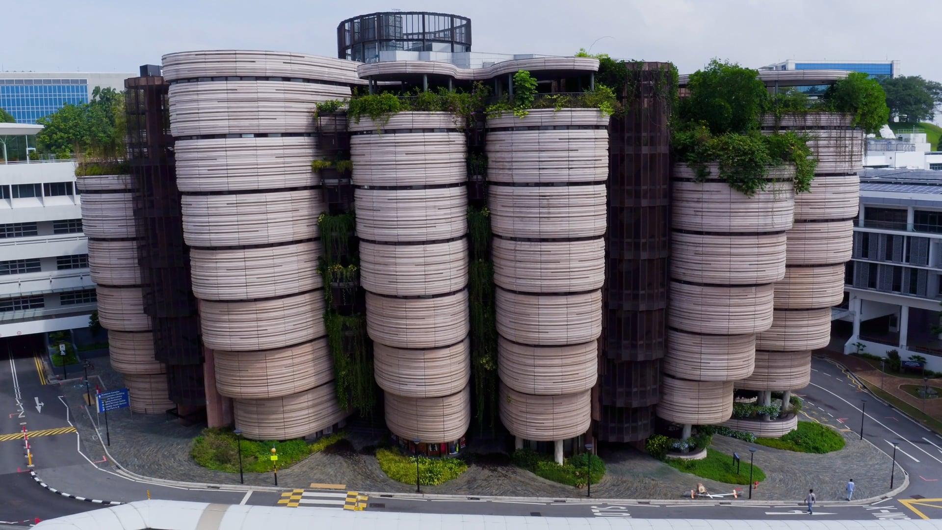 NTU The HIVE- Aerial Drone Shoot Singapore