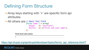 Drupal Form API