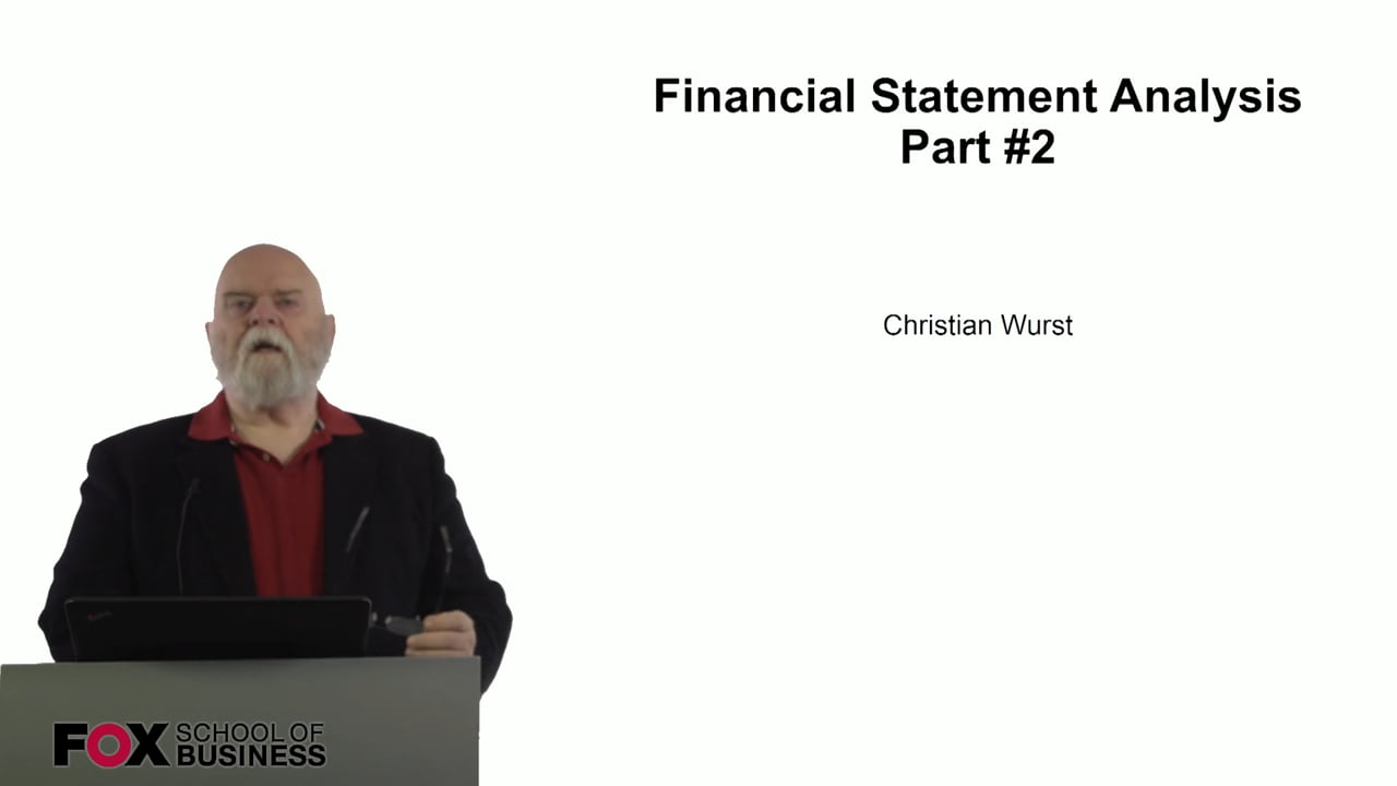 61074Financial Statement Analysis Part 2