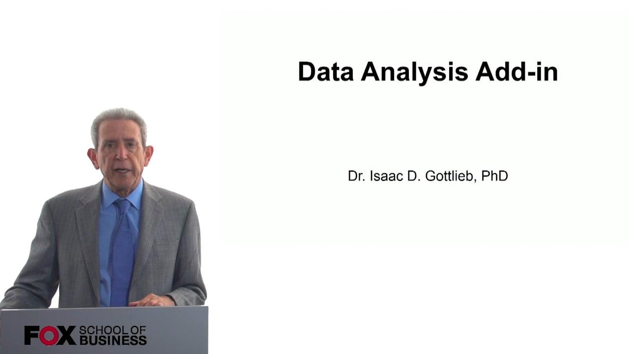 57778Data Analysis Add-In
