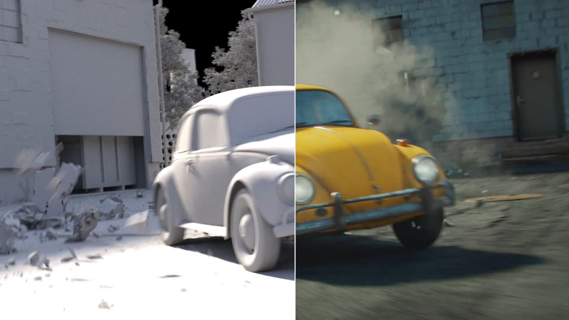 Transformers Bumblebee   VFX Breakdown