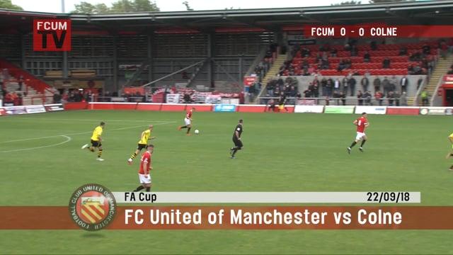 FCUM vs Colne - 22/09/18 - Goals