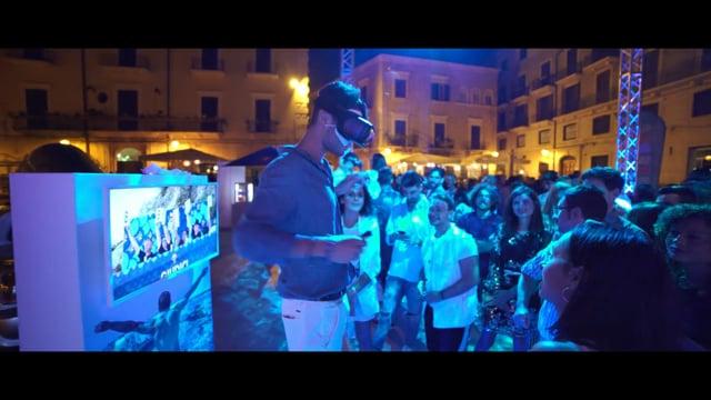 Red Bull | Cliff Diving Immersive Tour 2018 - Bari