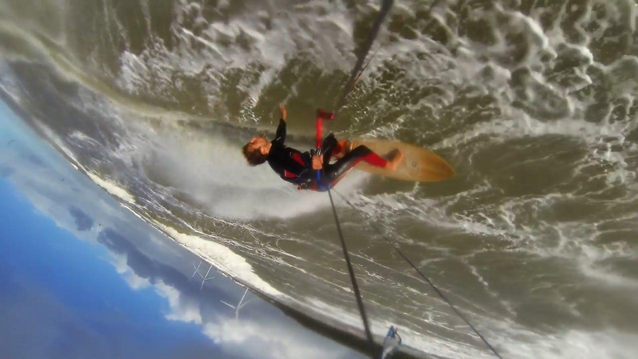 """Riding the Storm """"Knud""""   NAUTIC   HB-surfkite"""