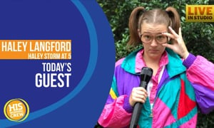 Haley Langford's Hurricane Florence Weather Reports Go Viral