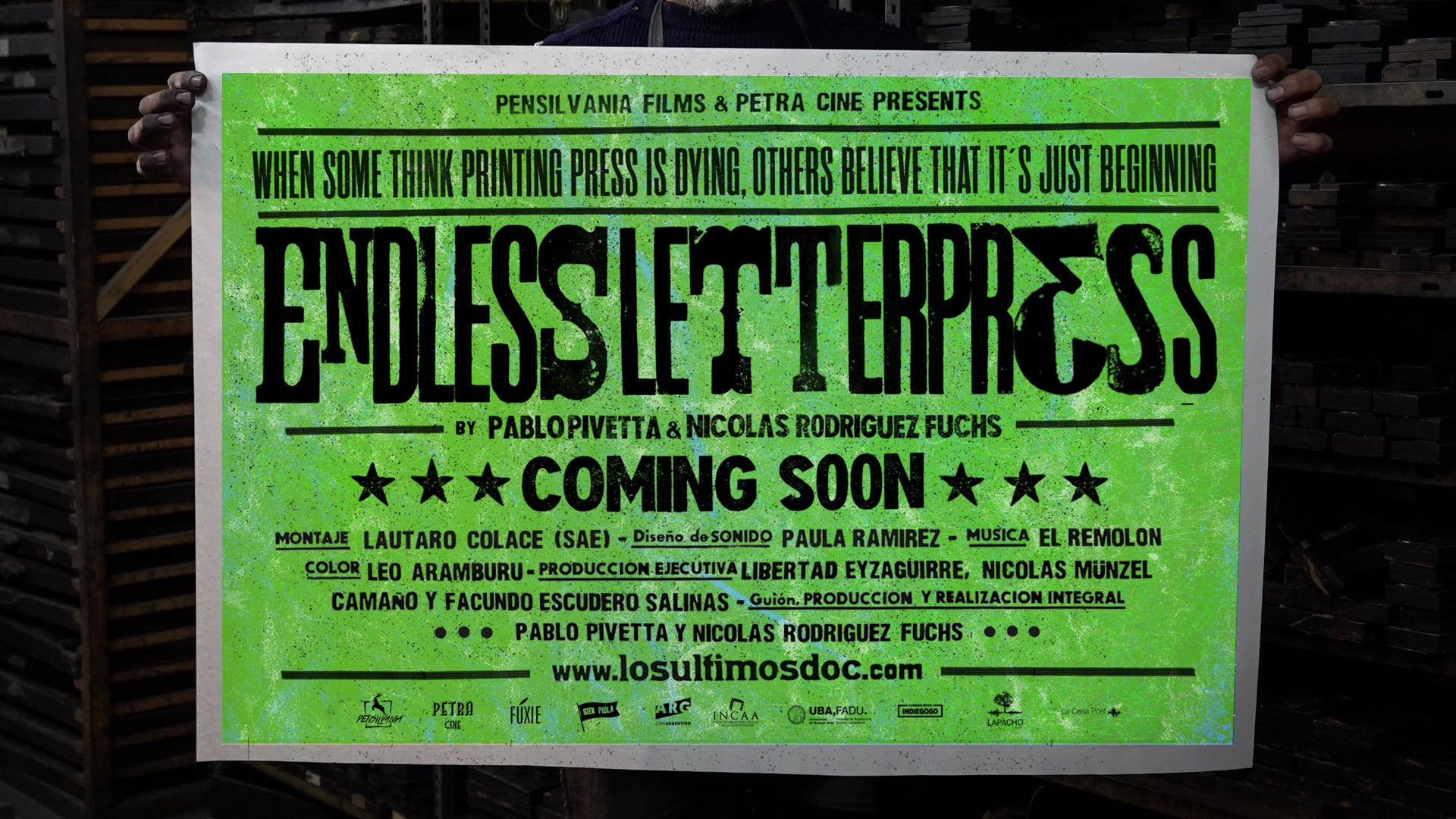 Los Ultimos / Endless Letterpress - Trailer 2018