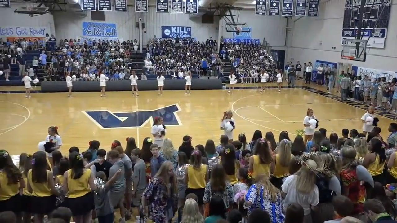 Varsity Football-2018-PepRally-Game1-Washington