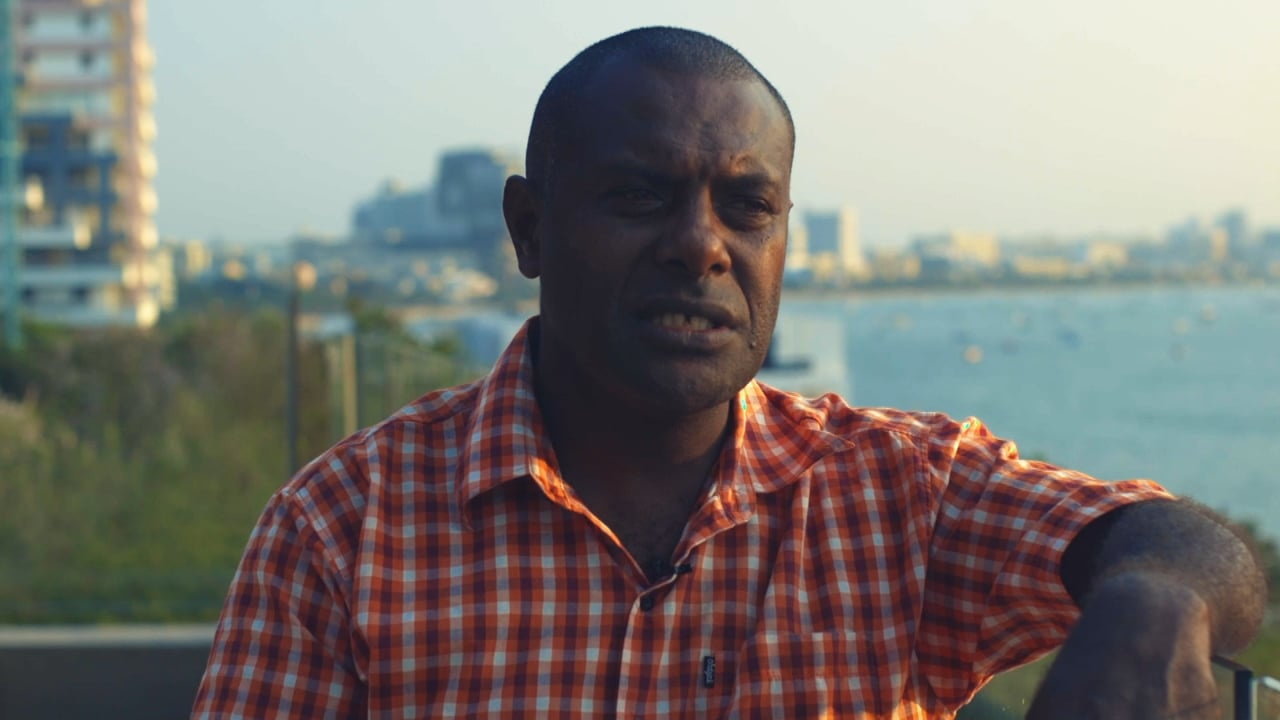 Tasaruru Whitely from the Nguna-Pele Marine and Land Protected Area Network on his solution
