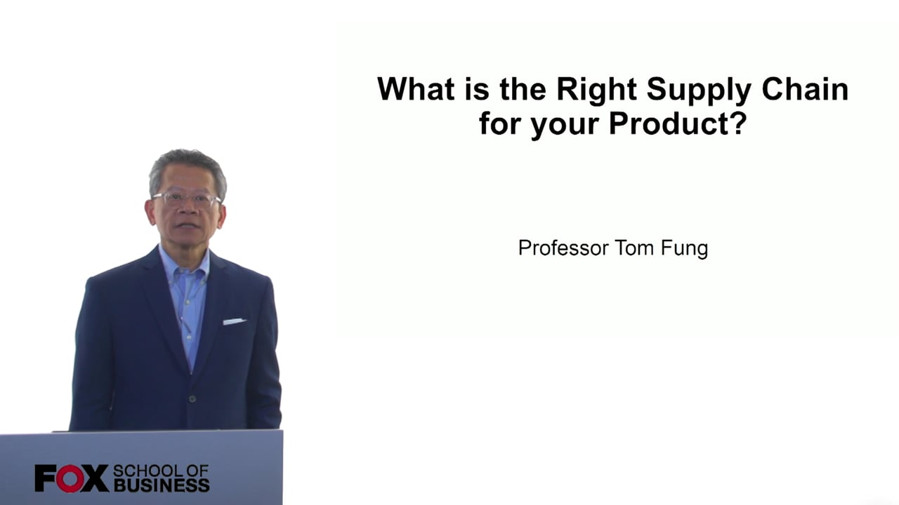 61101What is the RIght Supply Chain for your Product