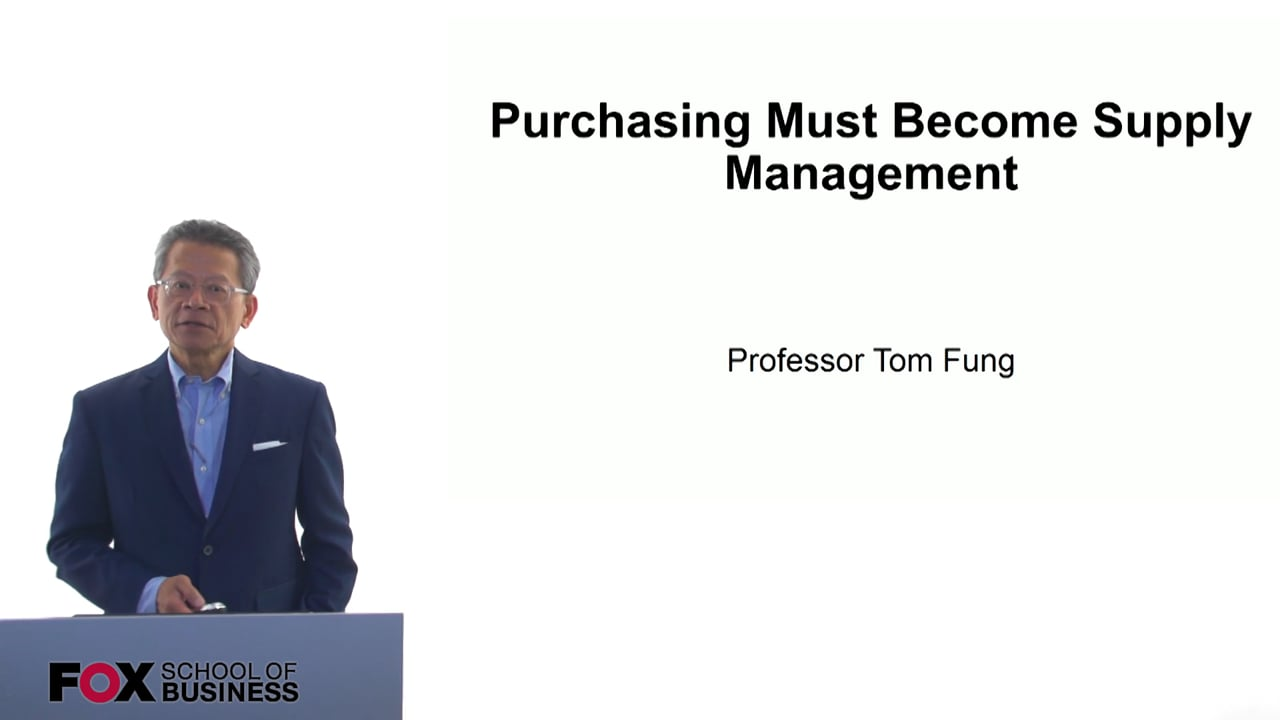 61102Purchasing Must Become Supply Management