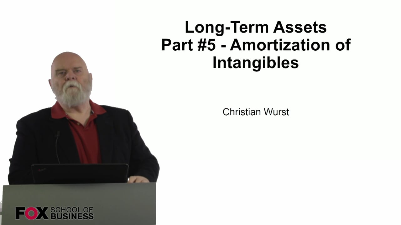 61100Long-Term Assets Part #5 – Amortization of Intangibles