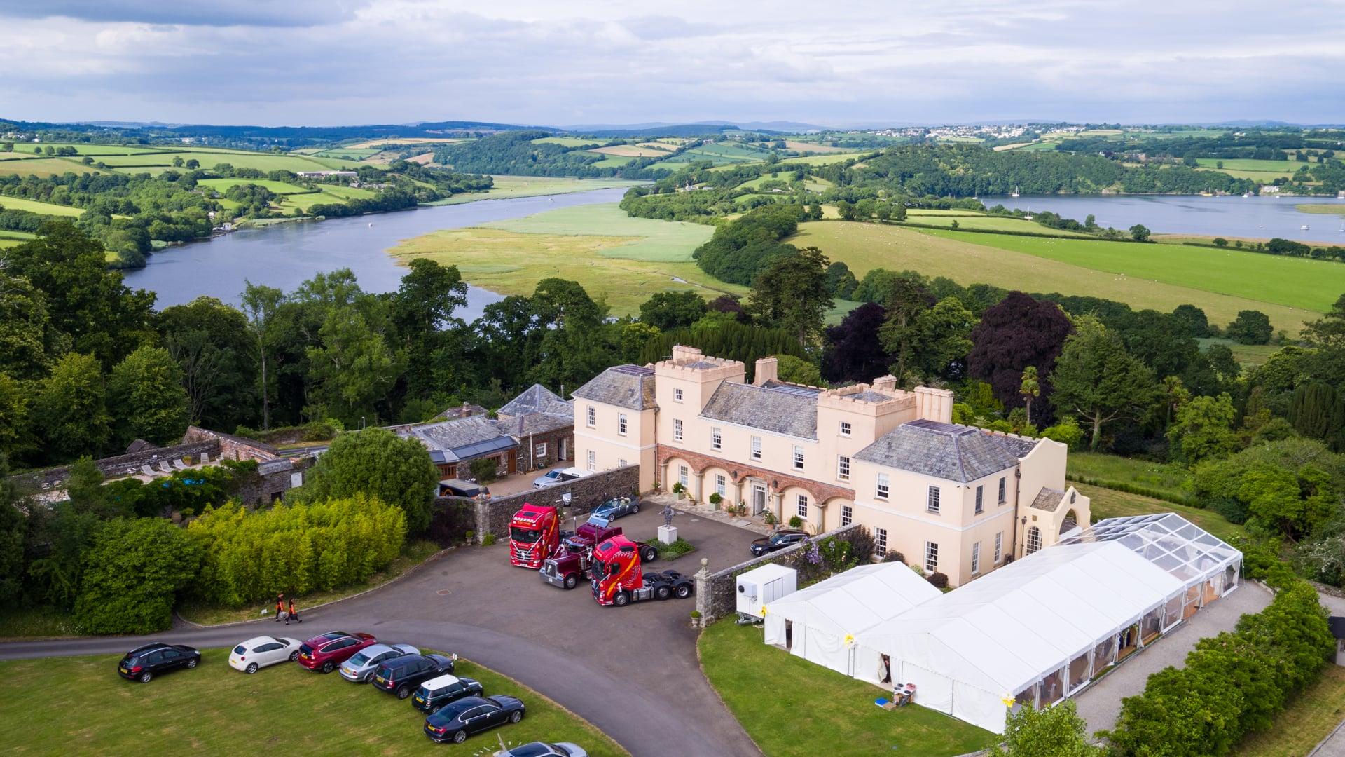 Pentillie Castle & Estate -Highlights - Carina & Kevin