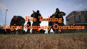 Waco Fire - Hose Training