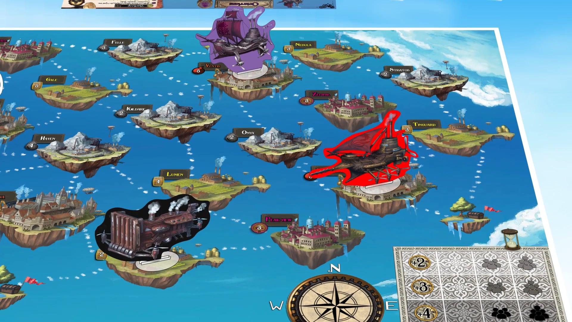 Steam Pirates Board Game Trailer