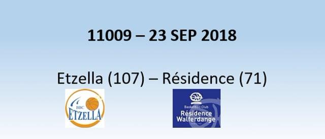 N1H 11009 Etzella (107) - Résidence (71)