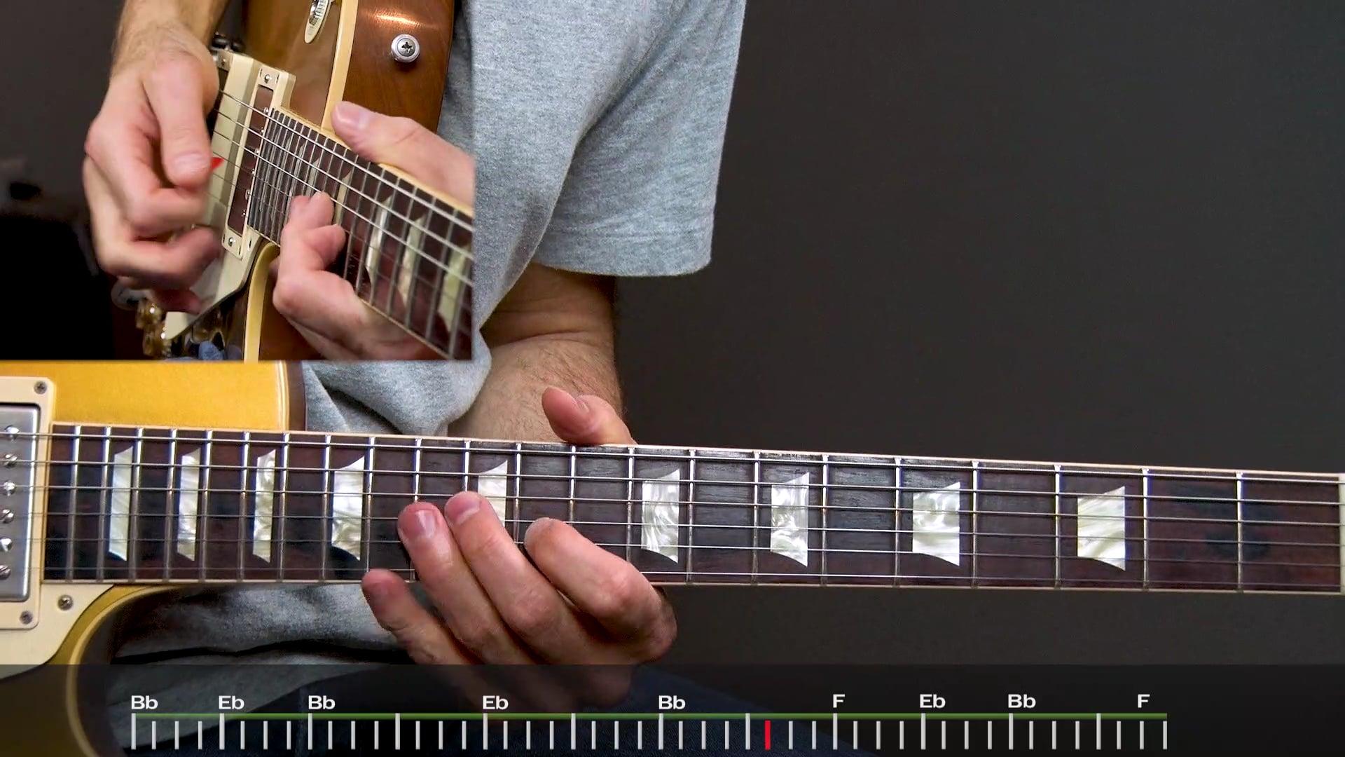 Slow Blues in Bb Advanced Solo