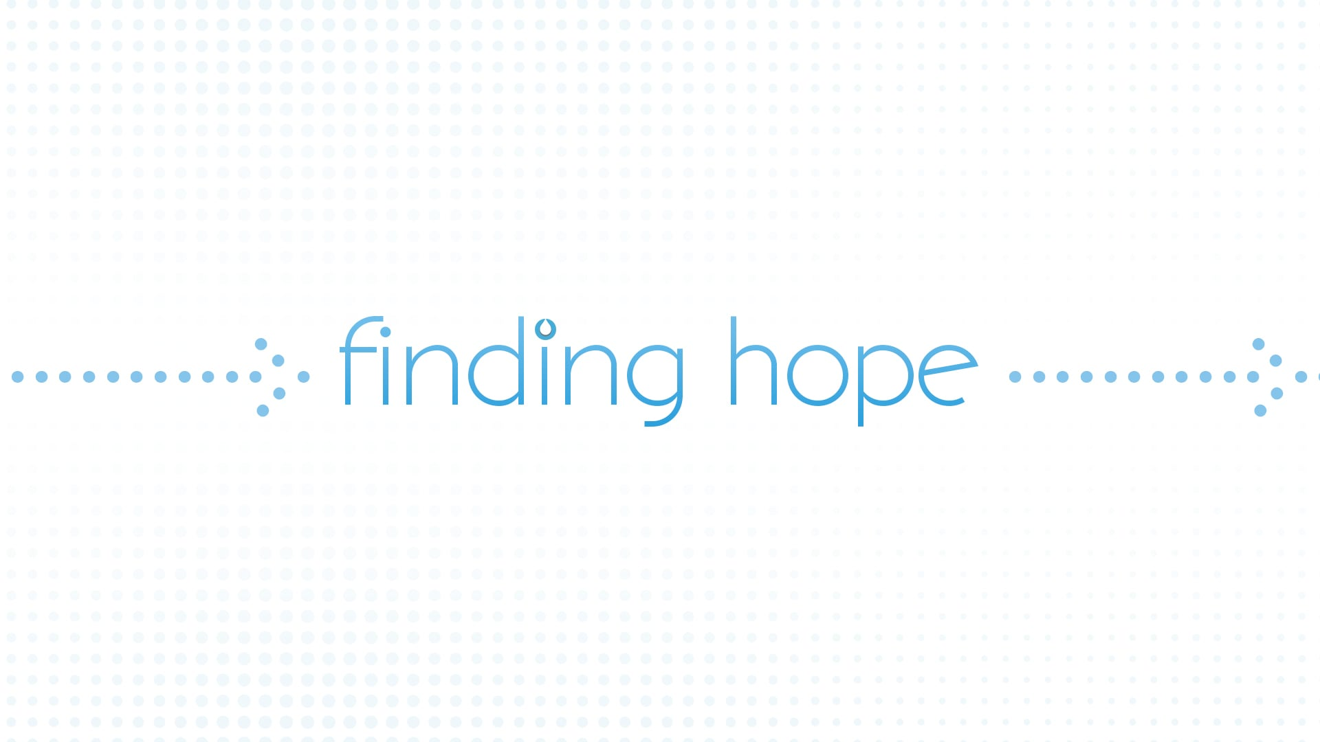 Finding Hope Part 3- Pastor Fred McCarthy