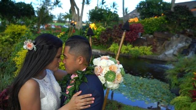 Marjorie + Leo | Same Day Edit | Kauai Wedding