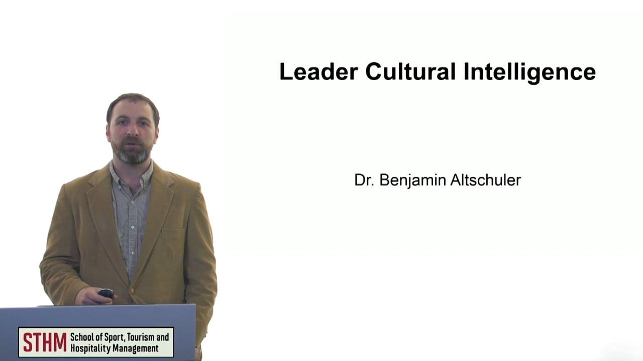 61115Leader Cultural Intelligence