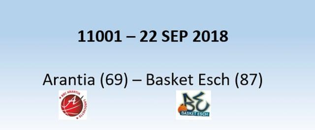 N1H 11001 Larochette (69) - Basket Esch (87) 22/09/2018