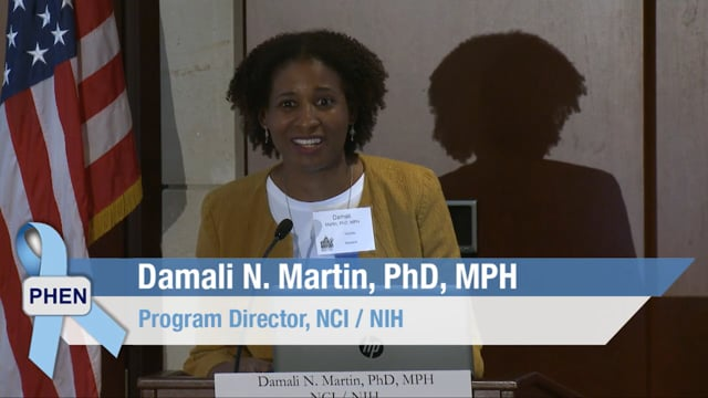 African American Prostate Cancer Disparity and Respond Trial with Dr Damali Martin