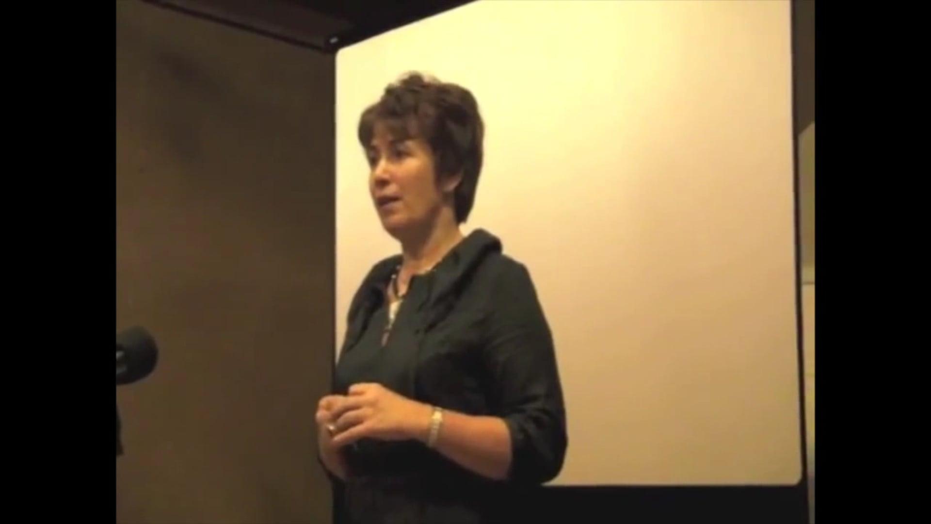 Guestspeaker Elena Tonetti for 'Sustainable Leadership' training in Belgium