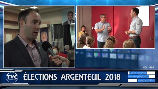 Soirée électorale Argenteuil 2018 en direct