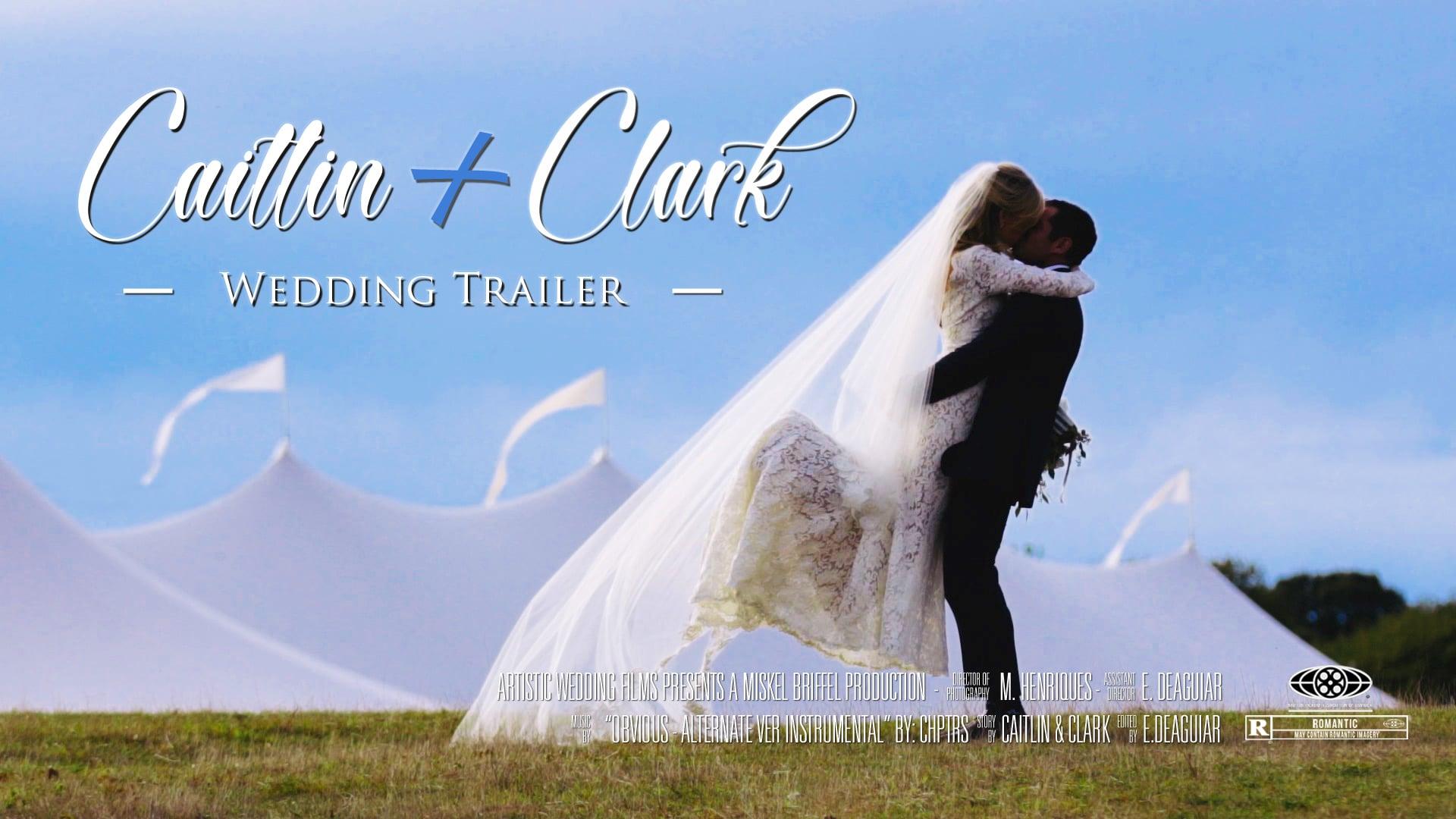Allen Farm Weddings // Caitlin & Clark's Wedding Trailer // Martha's Vineyard Wedding