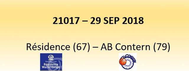 N1D 21017 Résidence (67) - Contern (79) 29/09/2018