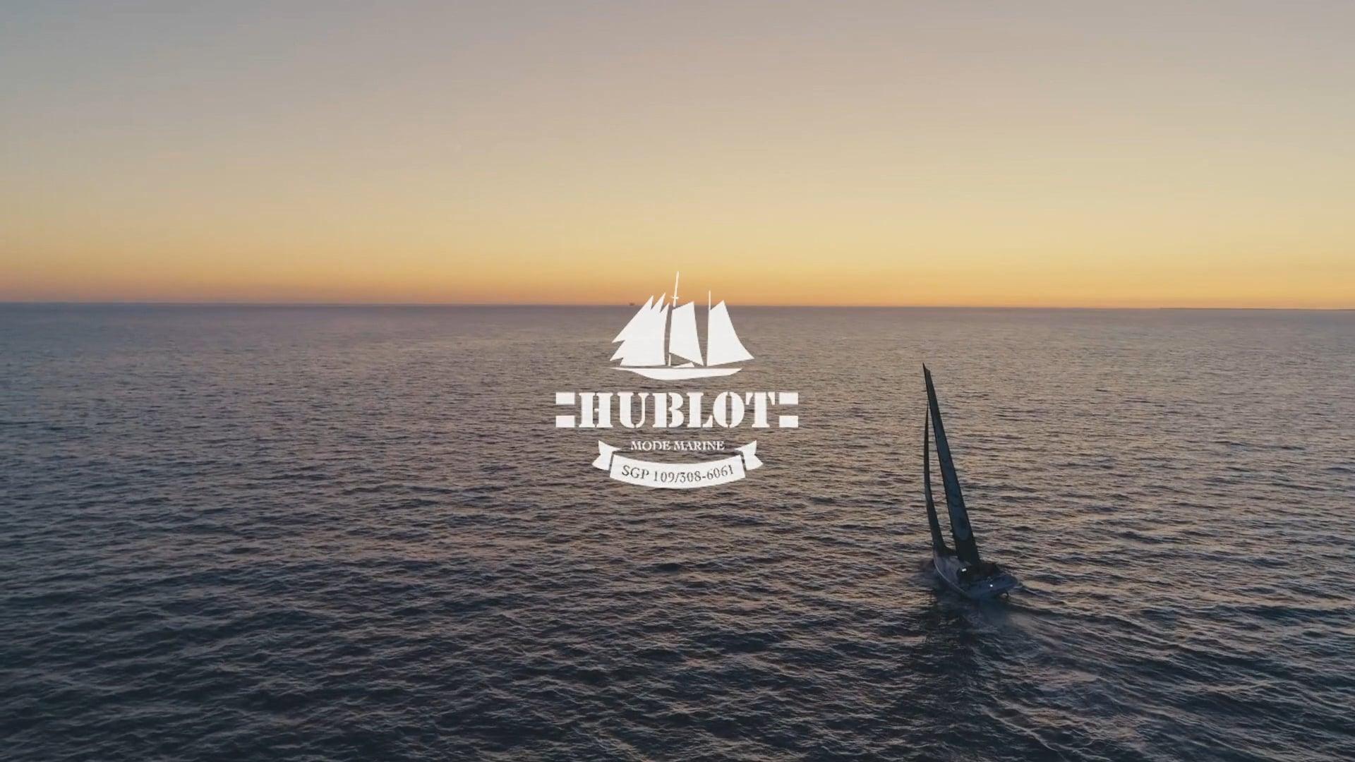 HUBLOT soutient Robin Marais - skipper lyonnais