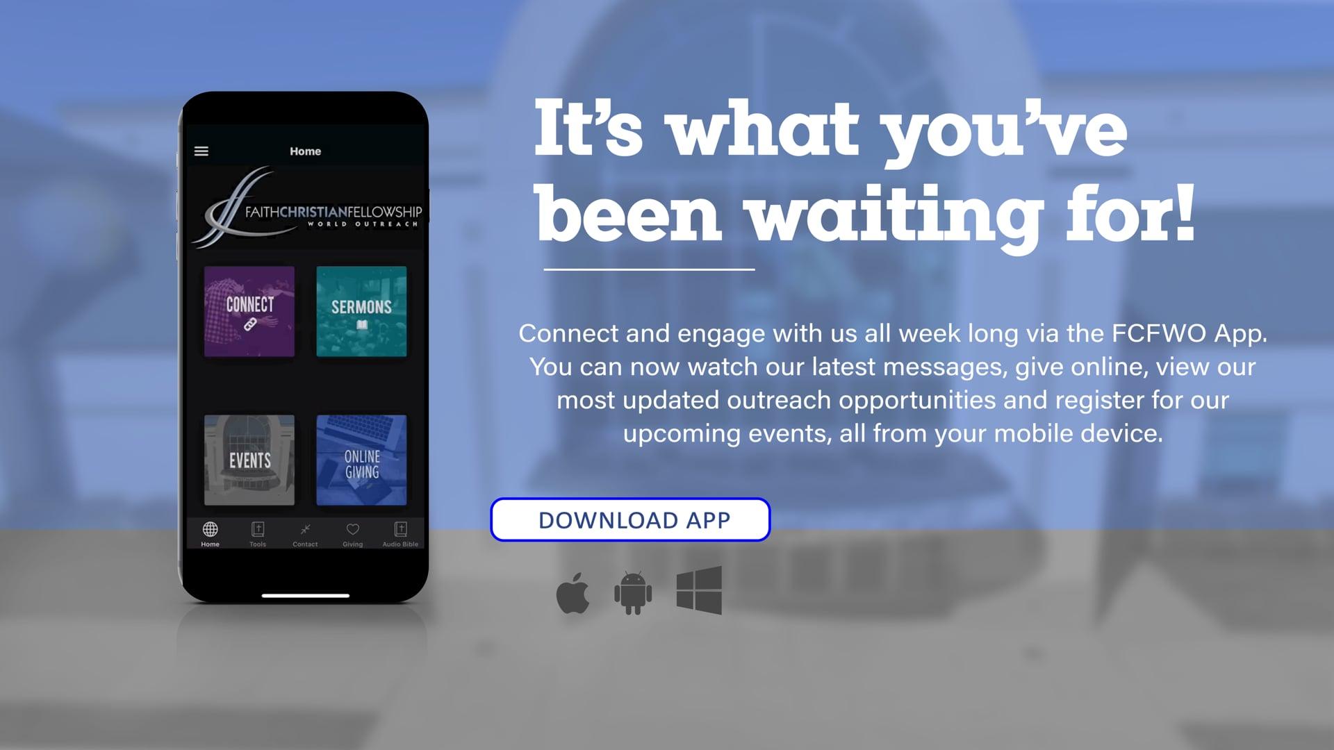 Church App Launch Promo