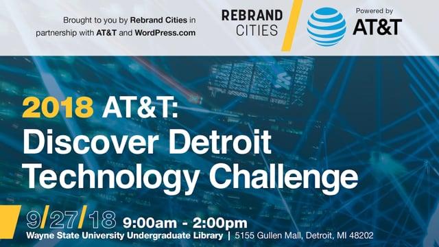 AT&T Discover Detroit Tech Challenge 100518