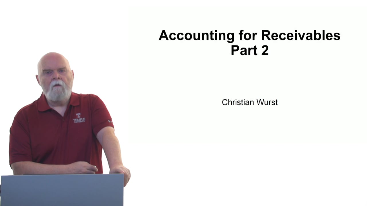 61124Accounting for Receivables Part 2