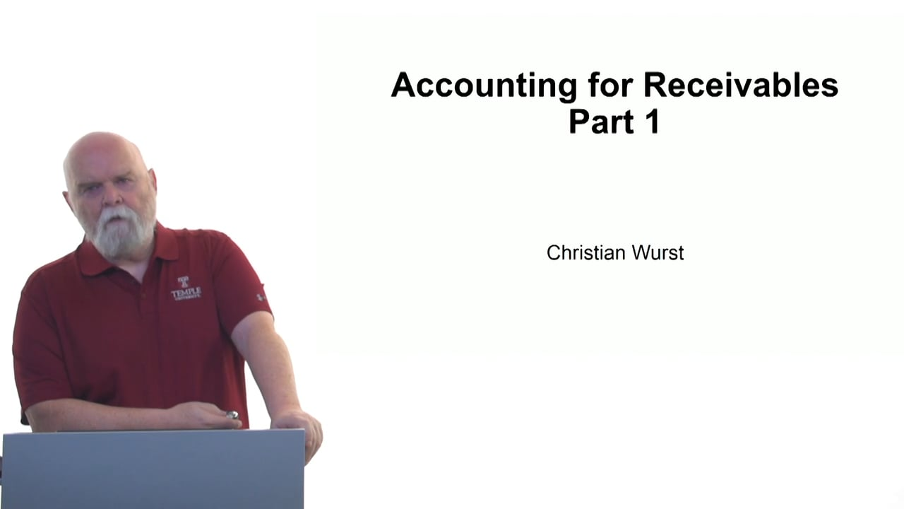 61122Accounting for Receivables Part 1