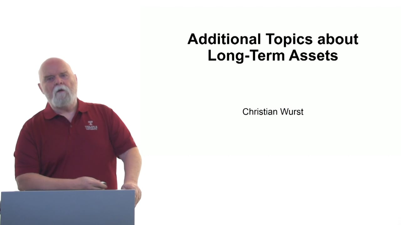 61125Additional Topics about Long-Term Assets