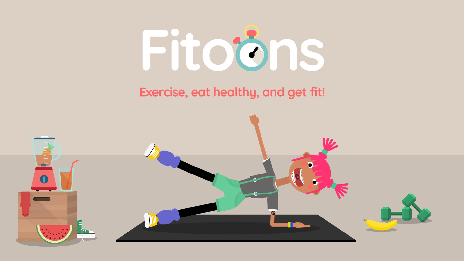 Fitoons by Avokiddo - iOS trailer