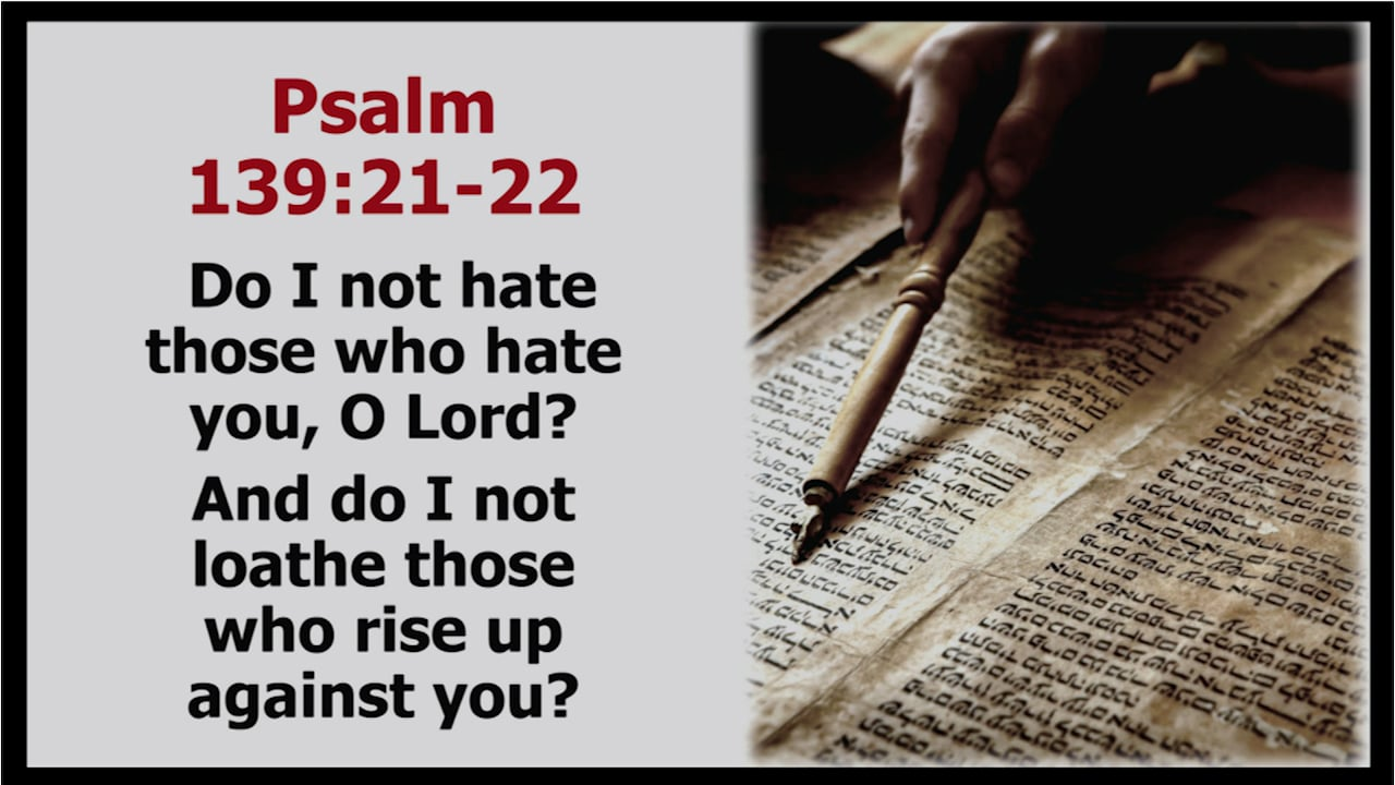 The Golden Rule: Love Your Enemies