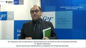 """Video píldora express de competitividad - Diálogos con la empresa familiar: """"El impuesto de sucesiones y donaciones"""""""