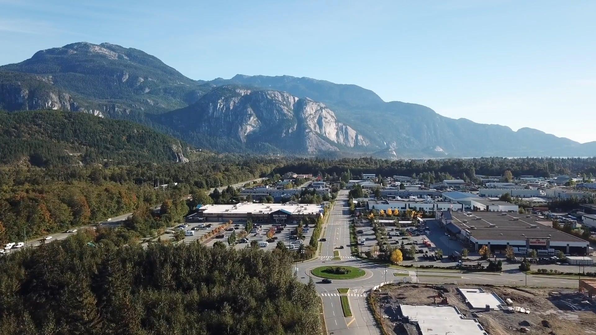 Squamish River Estuary, Garibaldi, SkyRidge, Stawamus Chief, Industrial Park (Ventana), Garibaldi, Squamish, British Columbia