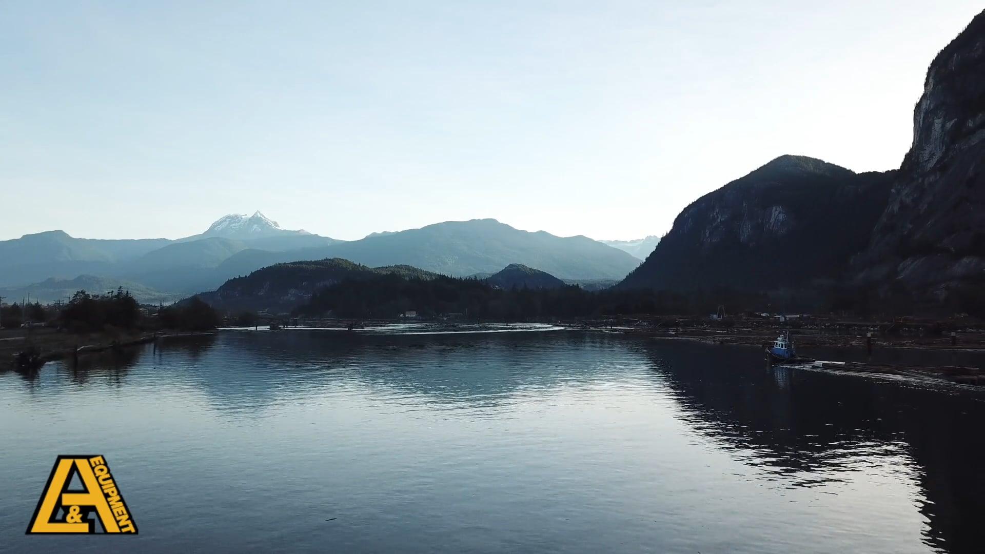 Oceanfront, Stawamus Chief, Squamish River Estuary, Industrial Park (Ventana), Garibaldi, Squamish, British Columbia