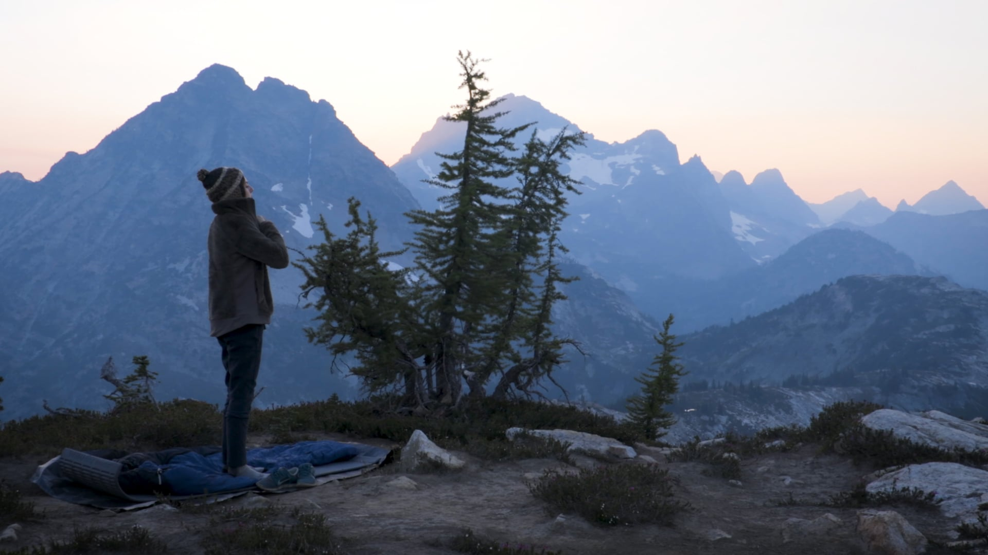 Living in the Present Moment - Female Mountaineering NW Outward Bound
