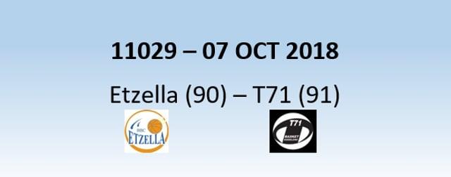 N1H 11029 Etzella (90) - T71 (91) 07/10/2018
