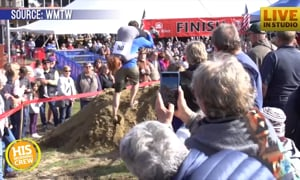 To Have and To Hold: Couple Wins Wife Carrying Competition