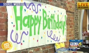Six Kids Displaced From Hurricane Celebrate Birthdays Together