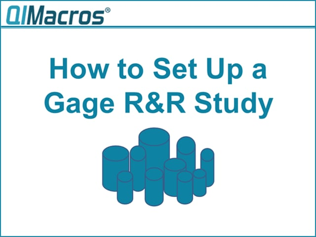 Gage R&R Study Example